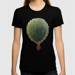 """Love Your World"" Tree Hot Air Balloon T-shirt"