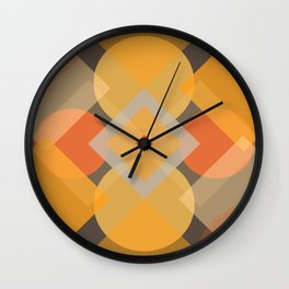 First Day Back @ School Wall Clock