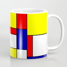 Mondrian #34 Coffee Mug