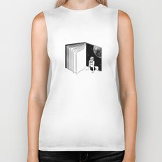 Reading is Dreaming with Your Eyes Open Biker Tank