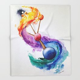 Kabbalah Sefirot Series: The Breath Throw Blanket