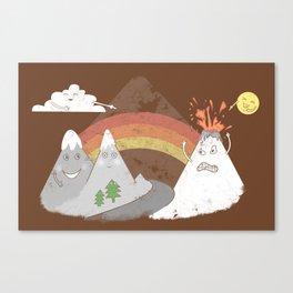 Volcano Fact Canvas Print