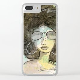 Dope Girl Clear iPhone Case