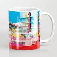bauhaus Mugs featuring Bauhaus · Das Bauhaus 1 by Marko Köppe