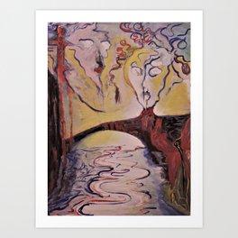 Rimbaud Art Print