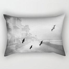 """Birds of a Feather"" Holga Double Exposure in San Diego, California Rectangular Pillow"