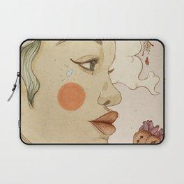 thoughtful woman Laptop Sleeve