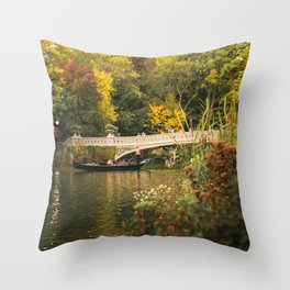 New York City Romance Throw Pillow