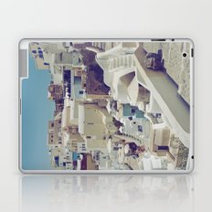 Streets of Santorini II Laptop & iPad Skin