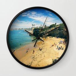 Playful Shores Wall Clock