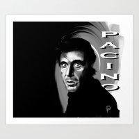 Al Pacino Art Print