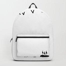 coffee T-shirt Backpack