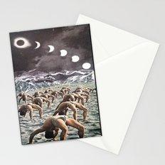 Moon Salutation Stationery Cards