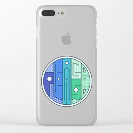 Play on words | Peace Please Clear iPhone Case