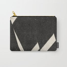 NOIR ABSTRACT / Steps Carry-All Pouch