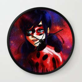 Miraculous Ladybug Spots On Wall Clock
