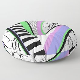 AMPS Deux - Abstract, Marble, Pastel, Stripes Floor Pillow