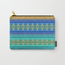 Illuminated Neo Tribal Micro pattern (HDR) Carry-All Pouch