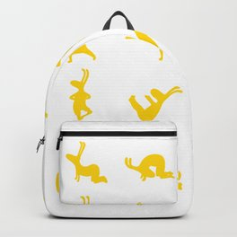 K's Yogi Bunnies Yellow Backpack
