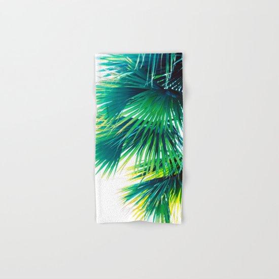 Bright Palm Hand & Bath Towel