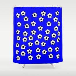 Ballon de foot Shower Curtain