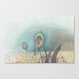 Beach Plants, 2018 Canvas Print