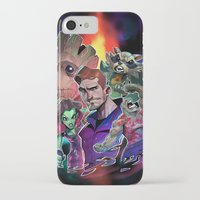 guardians of the galaxy iPhone & iPod Cases featuring Guardians of the Galaxy by Max Grecke