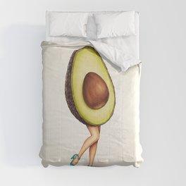 Avocado Girl Comforters