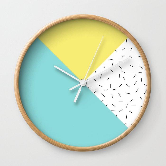 Geometry love Wall Clock