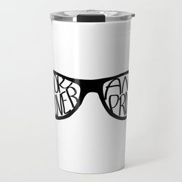 Book Lover And Proud Travel Mug