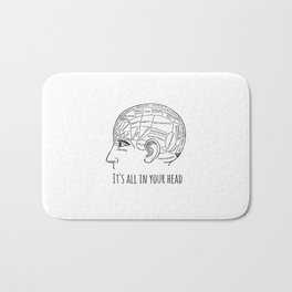 It's All in your Head Bath Mat