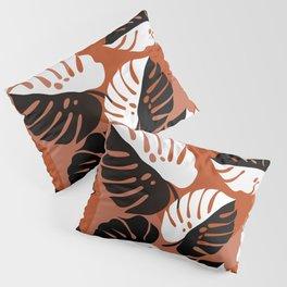 Abstraction_SUN_Monstera_Minimalism_001 Pillow Sham