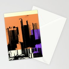 Downtown LA Skyline Stationery Cards