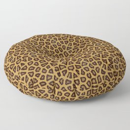 Leopard Skin Fur Pattern Floor Pillow
