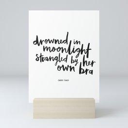 Drowned In Moonlight Mini Art Print