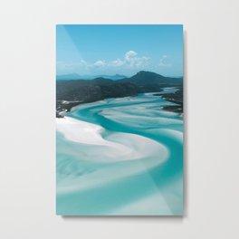 Whitehaven Beach, Australia Metal Print