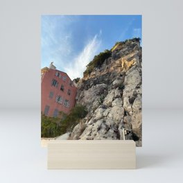 French Riviera Nice Mini Art Print