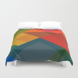 Abstract Composition 632 Duvet Cover