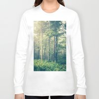 landscape Long Sleeve T-shirts featuring Inner Peace by Olivia Joy StClaire