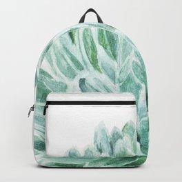 Watercolor cactus print Backpack