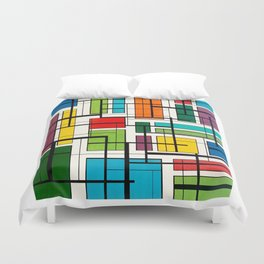 Pools in the neighborhood, Miami 2019 Duvet Cover