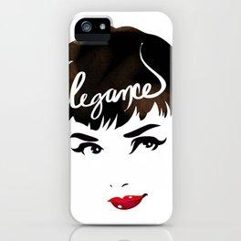 Bombshell Series: Elegance - Audrey Hepburn iPhone Case