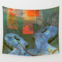sia Wall Tapestries featuring A new start by Ganech joe