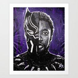 Chadwick Boseman - Black Panther Art Print