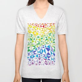 CRAZY COLOR Unisex V-Neck