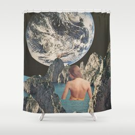 Cosmic Waters Shower Curtain