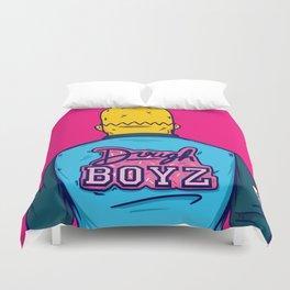 Dough Boyz Duvet Cover