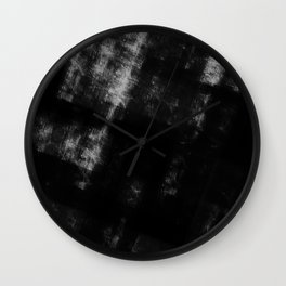Black & White Abstract Series ~ 8 Wall Clock