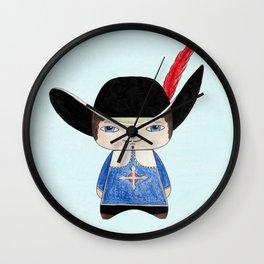 A Boy - Musketeer Wall Clock
