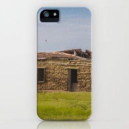 Sod Homestead, Mercer County, ND 4 iPhone Case